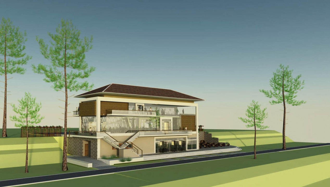 View 1 , Concept design Block B (14-7-15)